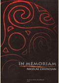 In memoriam Nicolae Chidioşan